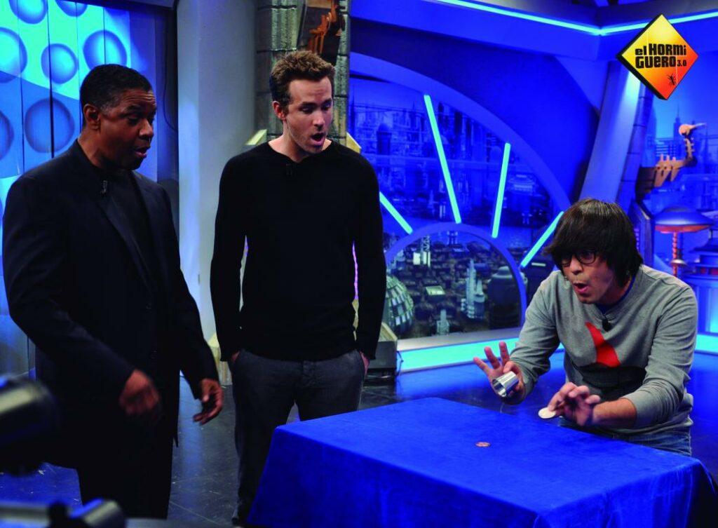 mini 2012 Piedrahita Ryan Reynolds y Denzel Washington el hormiguero 02 1024x753 - Luis Piedrahita
