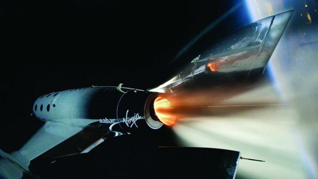 mini VSS Unity Reaches Space.jpg cmyk 1024x576 - Virgin Galactic anuncia fecha para la primera inmersión virtual en una cabina de nave espacial
