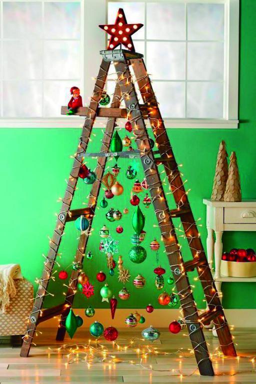 mini arbol navidad - Fiestas en casa